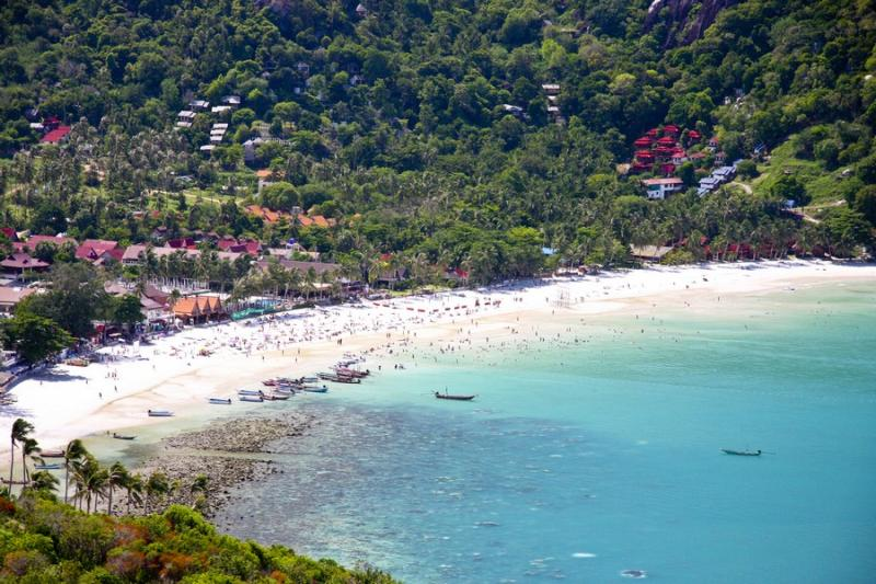 Haad Rin beach - Koh Phangan