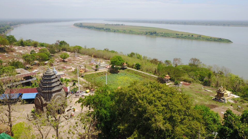 Hanches Temple - kampong cham